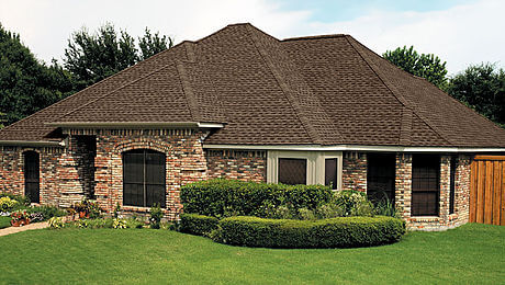 Example of a GAF Timberline HD shingle roof.